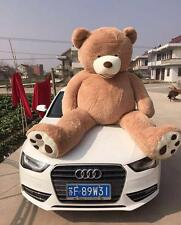 Hot / 200cm Super Huge Teddy Bear (Only Cover) Plush Toy Shell (With Zipper) 79""