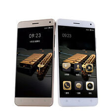 "5""Unlocked Android Smartphone Quad Core WCDMA/3G GSM WiFi AT&T T-mobile Gold 1+8"
