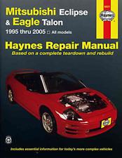 Haynes Workshop Manual Mitsubishi Eclipse Eagle Talon 1995-2005 Service Repair