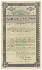 Standard Air Brake Company Bond Certificate (Westinghouse)