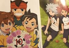 Inazuma Eleven 11 Go Mamoru Endou Double Sided Posters Lot!