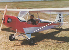 Giant 1/3 Scale Crackerjack Ultralight Plans, Templates and Instructions 100ws