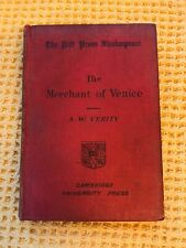 The Merchant of Venice Sh, A.W. Verity, William, 1907, William Shakespeare