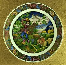 Jack And The Beanstalk Plate The Golden Classic Plate Collection Carol Lawson
