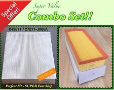 Combo Set Engine & Cabin Air Filter for Nissan Altima 07-12 2.5L Only GREAT FIT!