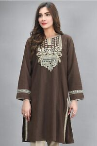 PAKISTANI designer Kurta/Shirt  ready to wear Casual Lime Light, Nishaat, Ethnic