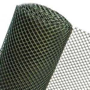 Zaun Gartenzaun Kunststoffzaun Gitterzaun Bauzaun HaGa® 1m Breite (Meterware)