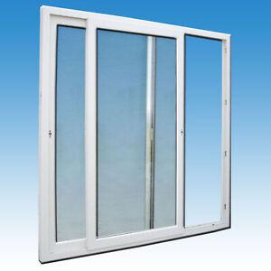 Schiebetür weiss 200 x 210 Balkontür Terrassentür Wintergartenelement Kunststoff