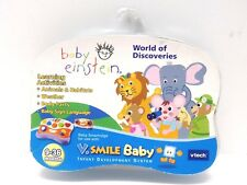 Baby Einstein Vtech 9-36 Months V.Smile Baby World of Discoveries 80-099040 NEW