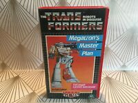 Transformers - Megatron's Master Plan 1985 Animation VHS Video Tape Vintage TBLO