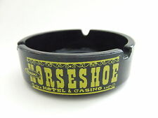 Binion's Horseshoe Casino Sombrero Room Las Vegas Vintage Glass Ashtray Tobacco