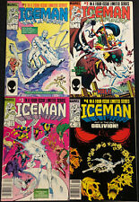 ICE MAN COPPER AGE 4-ISSUE LIMITED SERIES SET OF #1-4 (VF-NM)