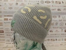 G-STAR RAW Beanie Men's EDWARD Rib Turn-Up Hat Grey Cotton Skull Cap BNWT RRP£40