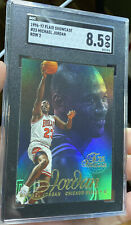 1996-97 Flair Showcase Michael Jordan Chicago Bulls NBA GOAT Row 2 SGC 8.5 #23