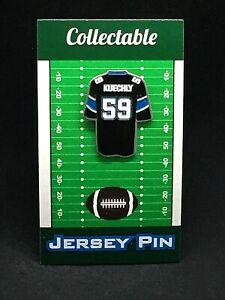 Carolina Panthers Luke Kuechly jersey lapel pin-Classic Retro Collectable
