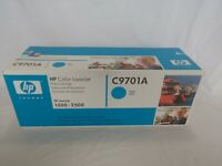 HP C9701A LaserJet Color Cyan Toner Cartridge New & Sealed