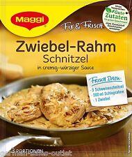 10 X  Maggi Zwiebel-Rahm Schnitzel Fix (Onion Sauce Mix ) Fresh From Germany.