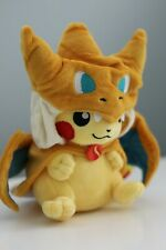 """Pokemon Pikachu Cosplay Charizard 9"""" Soft Plush Toy Stuffed Animal Plushie"""