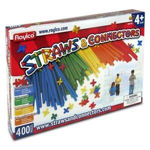 Roylco Straws & Connectors 400 piece