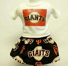 San Francisco Giants Outfit For 18 Inch Doll