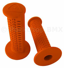 AME old school BMX CAM CAMS bicycle grips - ORANGE *MADE IN USA*