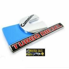 TURBO DIESEL EMBLEM FITS DODGE RAM 2500 3500 CUMMINS BADGE FENDER 15- 2020 NEW