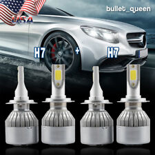 H7+H7 Combo LED Headlight Hi/Lo Beam Kit for VW Jetta 2005-2018 Passat 2001-2016