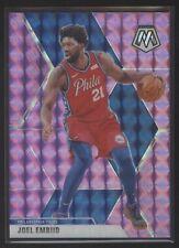 2019-20 Panini Mosaic Basketball #189 Joel Embiid Pink Mosaic /49