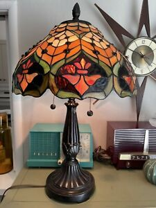 Dale Tiffany Stained Glass Lamp