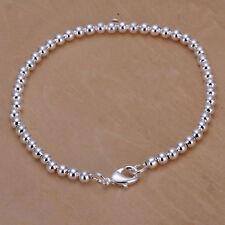 ASAMO Damen Armband mit kleinen Kugeln 925 Sterling Silber plattiert Schmuck