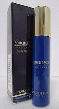 Boucheron Pour Homme .33oz/10ml Men Eau De Toilette MINI Spray (With Pouch)