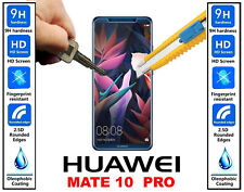 Genuine 100% TEMPERED GLASS Invisible HD Screen Protector For Huawei Mate 10 Pro