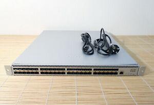 Cisco Meraki MS420-48-HW L3 Cloud Managed 48 port SFP+ Aggregation Switch 2xPSU
