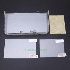 Clear Crystal Plastic Protective Skin Case Cover for New Nintendo 3DSXL