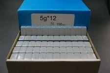 100 Stück 6Kg Klebegewichte Auswuchtgewichte Wuchtgewichte 60g 12x5g Riegel