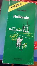 HOLLANDE - MICHELIN - GUIDE VERT - 1 ERE EDITION