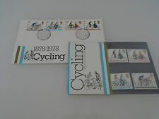1978 Cycling Stamps in Presentation Pack 1st Day Cover