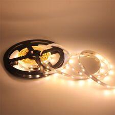 Warm White 5M SMD 3528 LED Strip Light Flexible 300Led Lamp DC 12V