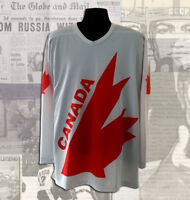Canada Cup Team Canada White Jersey Brand New Sizes L