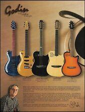 Robert Godin Multiac Nylon Duet Custom A6 LGX guitar ad 8 x 11 advertisement