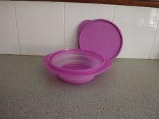 Tupperware flat out / go flex pk 1 mulberry pink / purple new 950ml