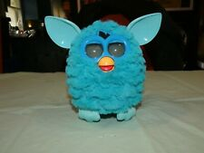 Hasbro Furby 2012 Teal Blue Interactive Toy Tested Working.
