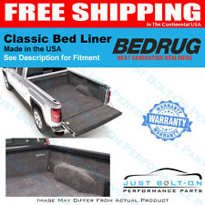 BedRug FITS 2015-2018 GM Colorado/GMC Canyon Crew Cab 6' Bed BRB15SBK