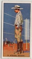 South African Ostrich Rancher Natal Transvaal  c80 Y/O Ad Trade Card