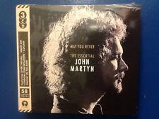 JOHN.  MARTYN.      THE. ESSENTIAL.  JOHN. MARTYN.      THREE DISC. BOXSET.