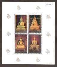 1995 THAILAND BUDDHA VISAKABUJA DAY STAMP SOUVENIR SHEET S#1611A MNH FRESH