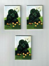 New Black Poodle Pet Dog Magnet Set 3 Magnets By Ruth Maystead Mfr # Pod-15