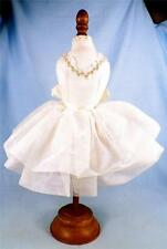 Bearington Collection Mannikin Dress Form Tulle Dress Yellow Ribbon Lace