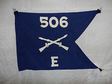 flag844 WW2 US Army Airborne Guide on 506th Parachute Infantry Regiment E Co W9A