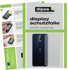 2x Nokia 7.1 Plus back Screen Protector Protection Anti Glare dipos